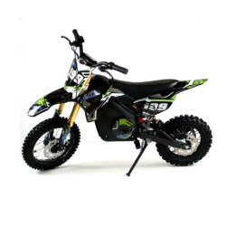 Мини кросс электрический MOTAX 1300W черно зеленый (электрический, до 50 кг, до 45 км/ч, томоза дисковые механические)